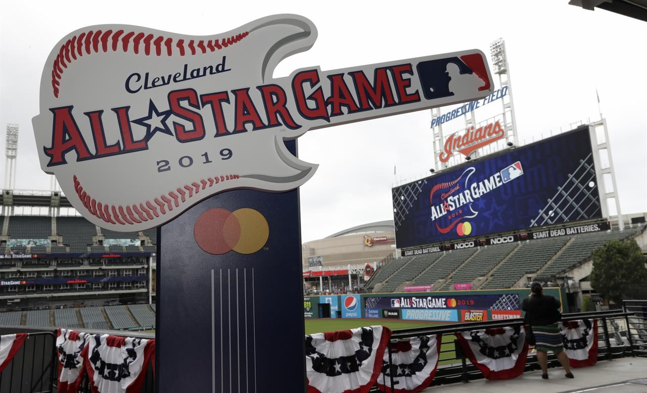 Indians unveil rocking logo for 2019 All-Star Game | 98 9 FM