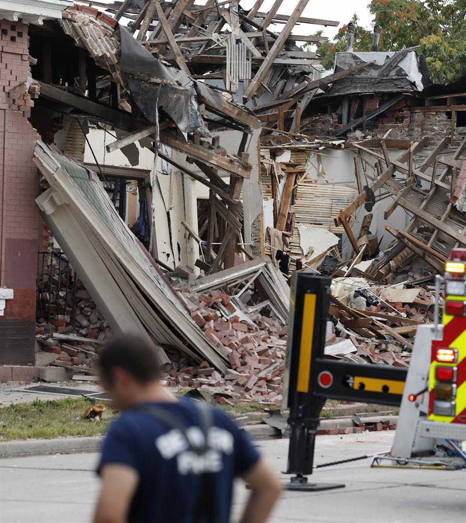 9 Injured In Apparent Natural Gas Explosion In Denver