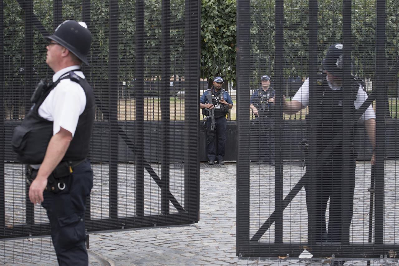 UK police seek motive of Sudan-born Parliament car crasher