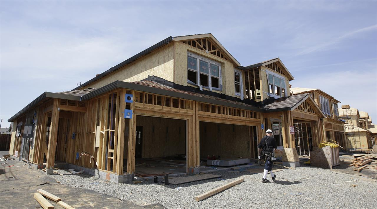 New Home Construciton In Roseville