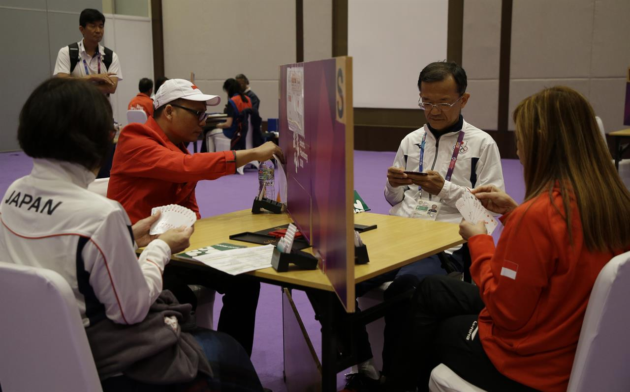 Playing bridge at the Asian Games: 'Athletics of the mind ...