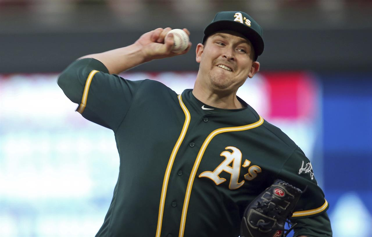 Cahill, A's fall 6-4 to Twins, take 2nd straight loss | AM 970 The