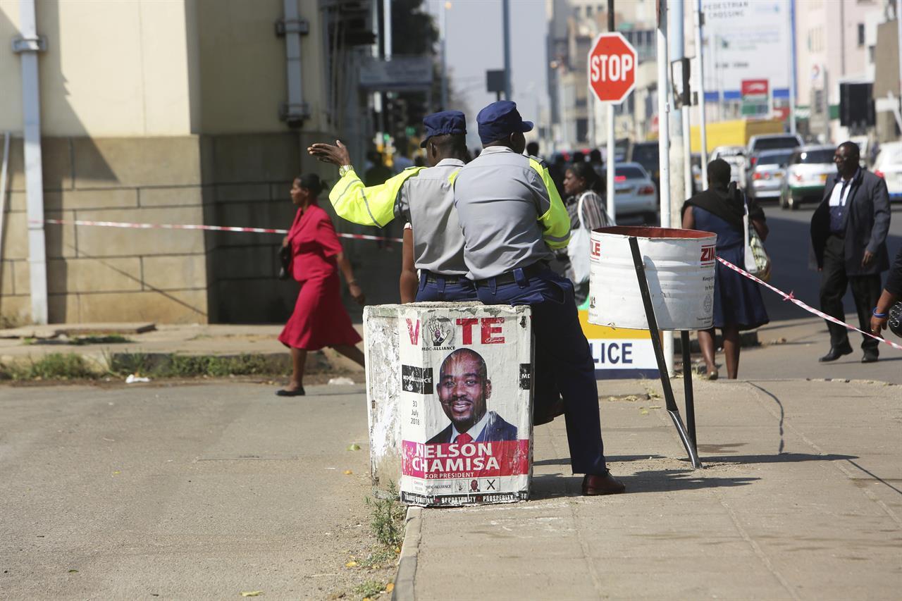 Zimbabwe court unanimously upholds president's election win | AM 970