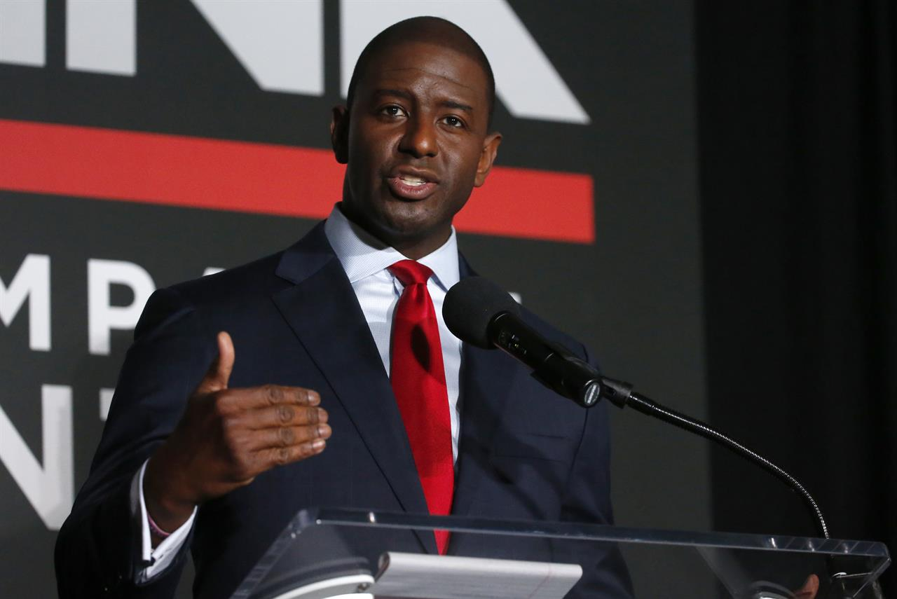 Gillum tells opponent to focus on issues, not insults - Philadelphia, PA