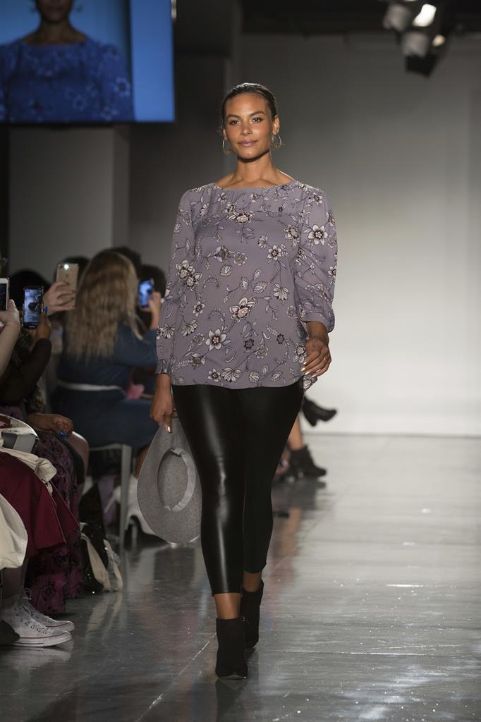 Women celebrate size inclusivity at alternative fashion ...