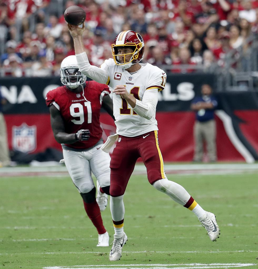 Smith, Peterson led Redskins to 24-6 victory at Arizona ...