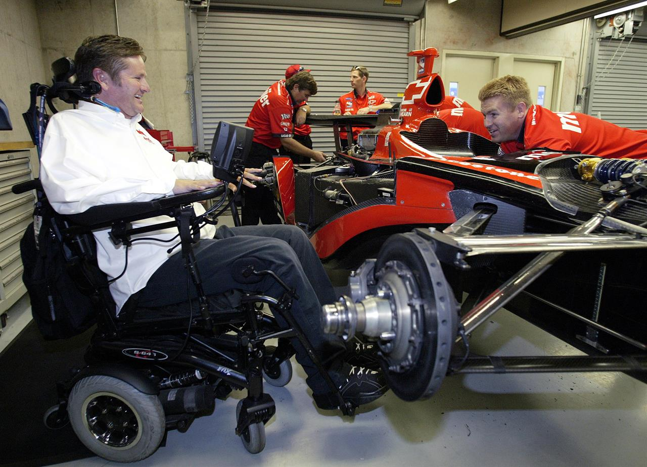 Sam schmidt 39 s paralysis gives him ability to inspire for Garage auto legue langueux