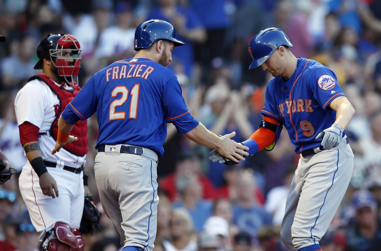 Brock Holt's pinch double lifts Red Sox over Mets 5-3 | AM ...