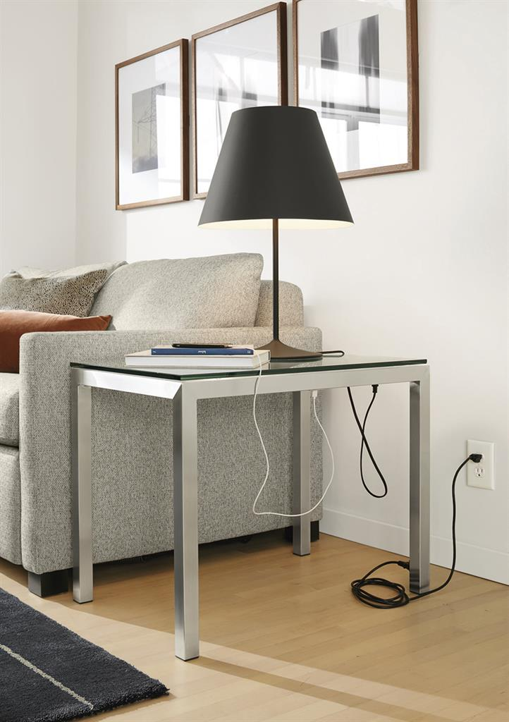 This Photo Provided By Room Board Shows The Portica End Table From Which Comes Both Standard And In A C Shaped Version Can Be Useful
