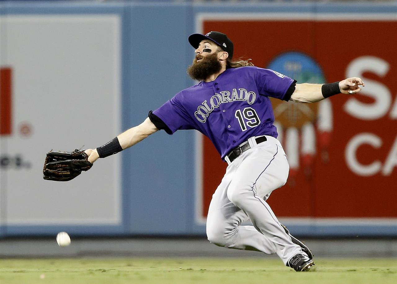 Dodgers top Rockies 8-2, move back into 1st in NL West | Money 105.5 FM - Sacramento, CA