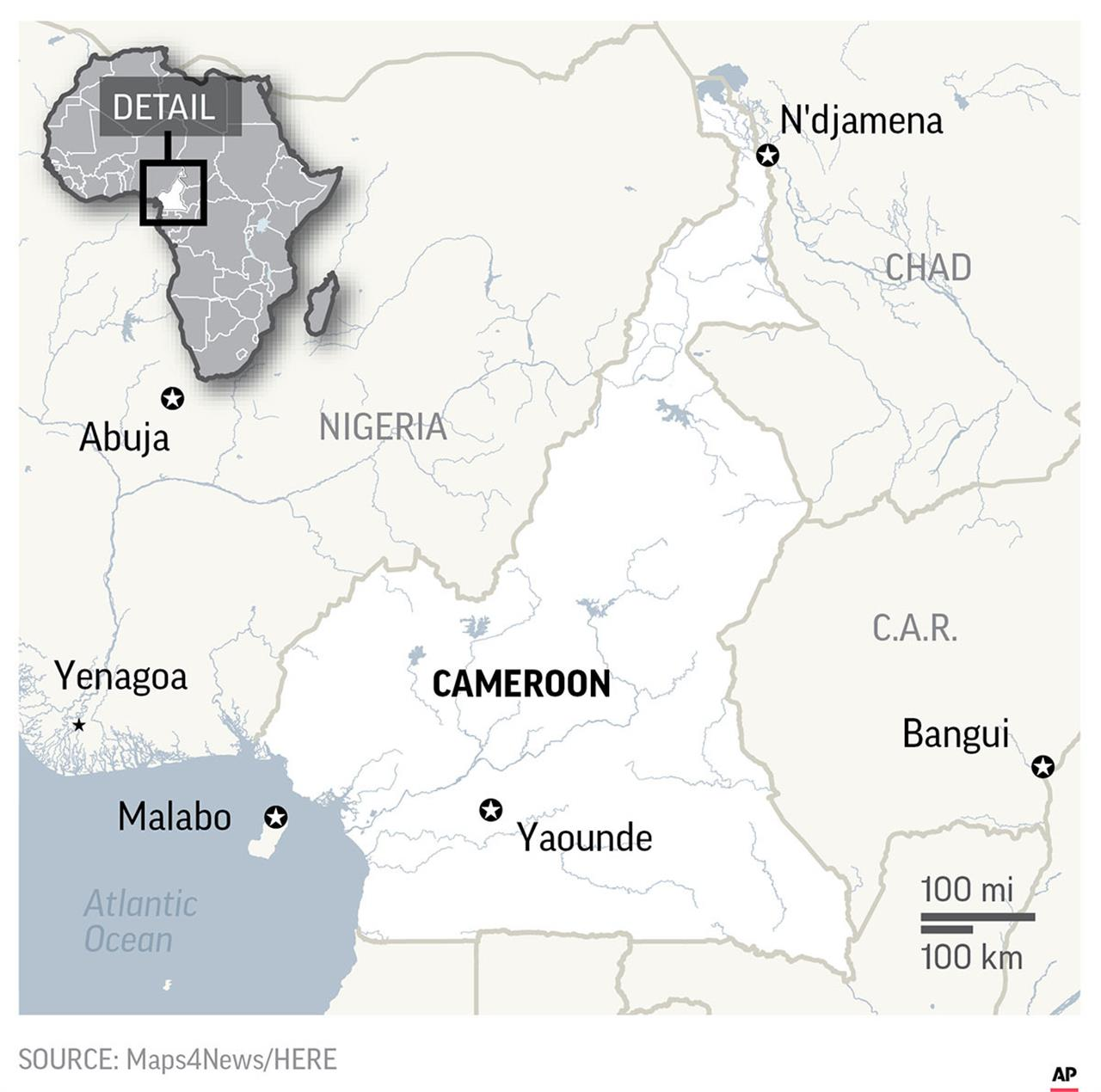 Cameroon lurches toward election amid separatist conflict ... on