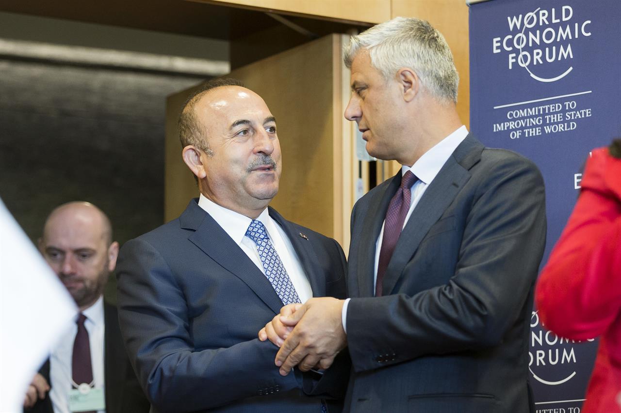 World Economic Forum hosts Balkan leaders in Switzerland