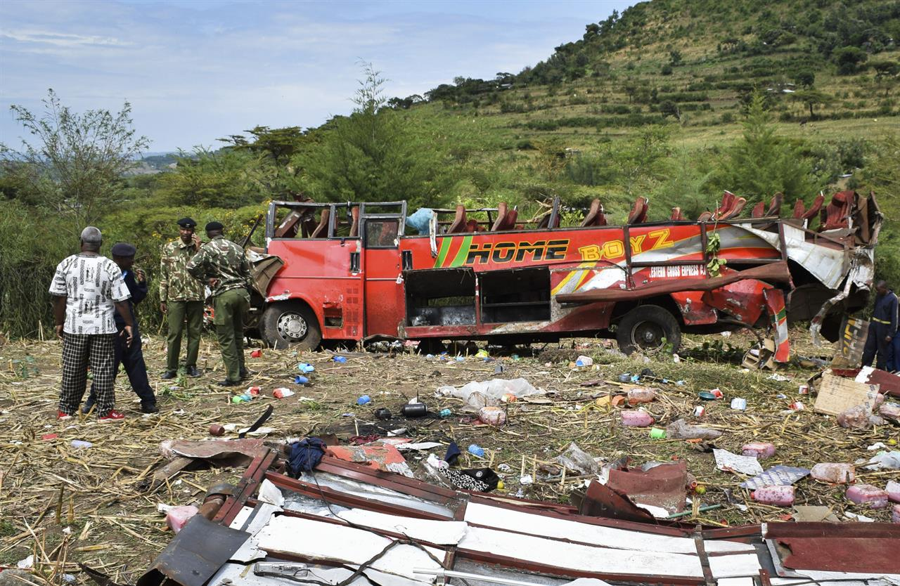 55 people dead in overnight bus crash in western Kenya | AM