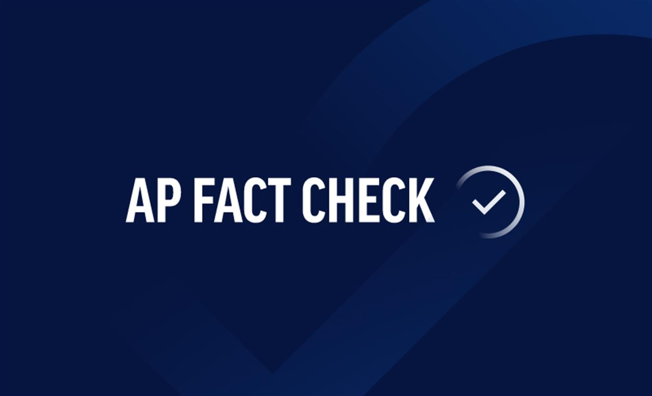 AP FACT CHECK: Trump's half-baked claims on climate ...