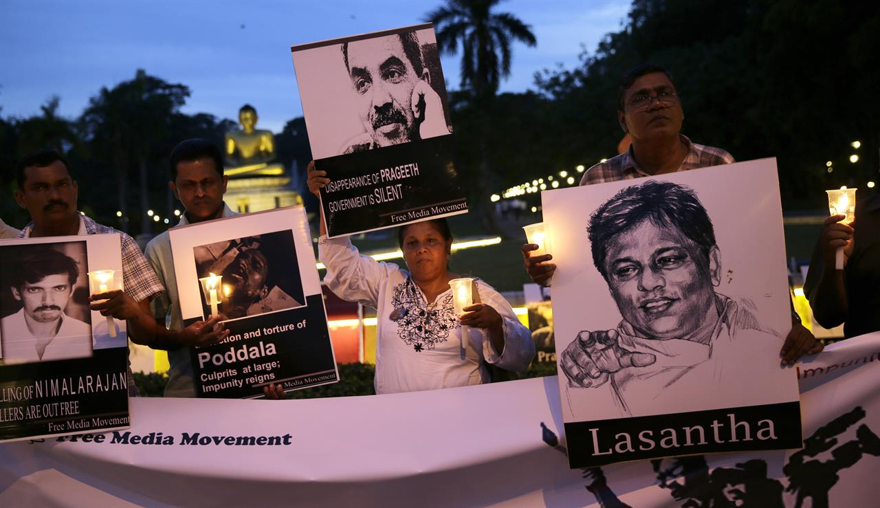 sri lanka journalists remember killed abducted colleagues orlando fl