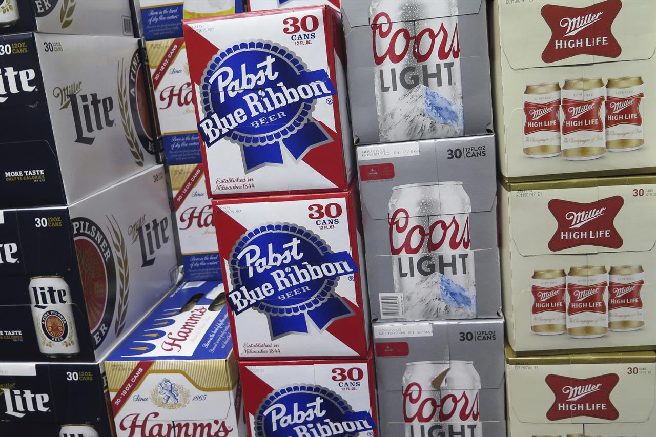 0eddcd33787 Pabst says MillerCoors is trying to put it out of business | AM 1190 ...
