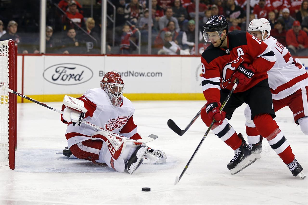 0fca8f21ac3 Dylan Larkin scores in OT as Red Wings beat Devils 3-2   AM 970 The ...