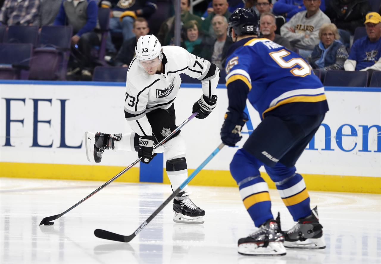 Luff Lead Kings To 2 0 Win Over Blues