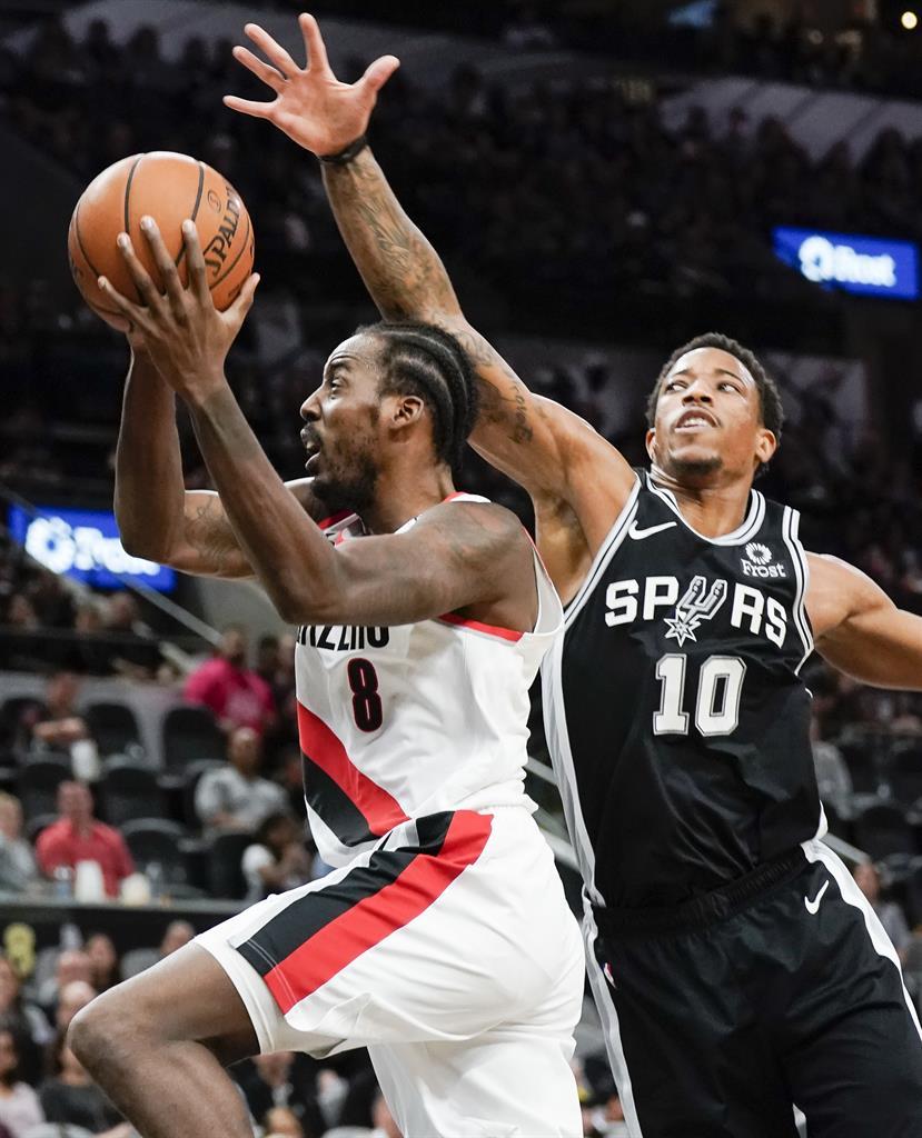 Portland Trail Blazers Media Guide: DeRozan's Season-high 36 Help Spurs Beat Blazers, 131-118