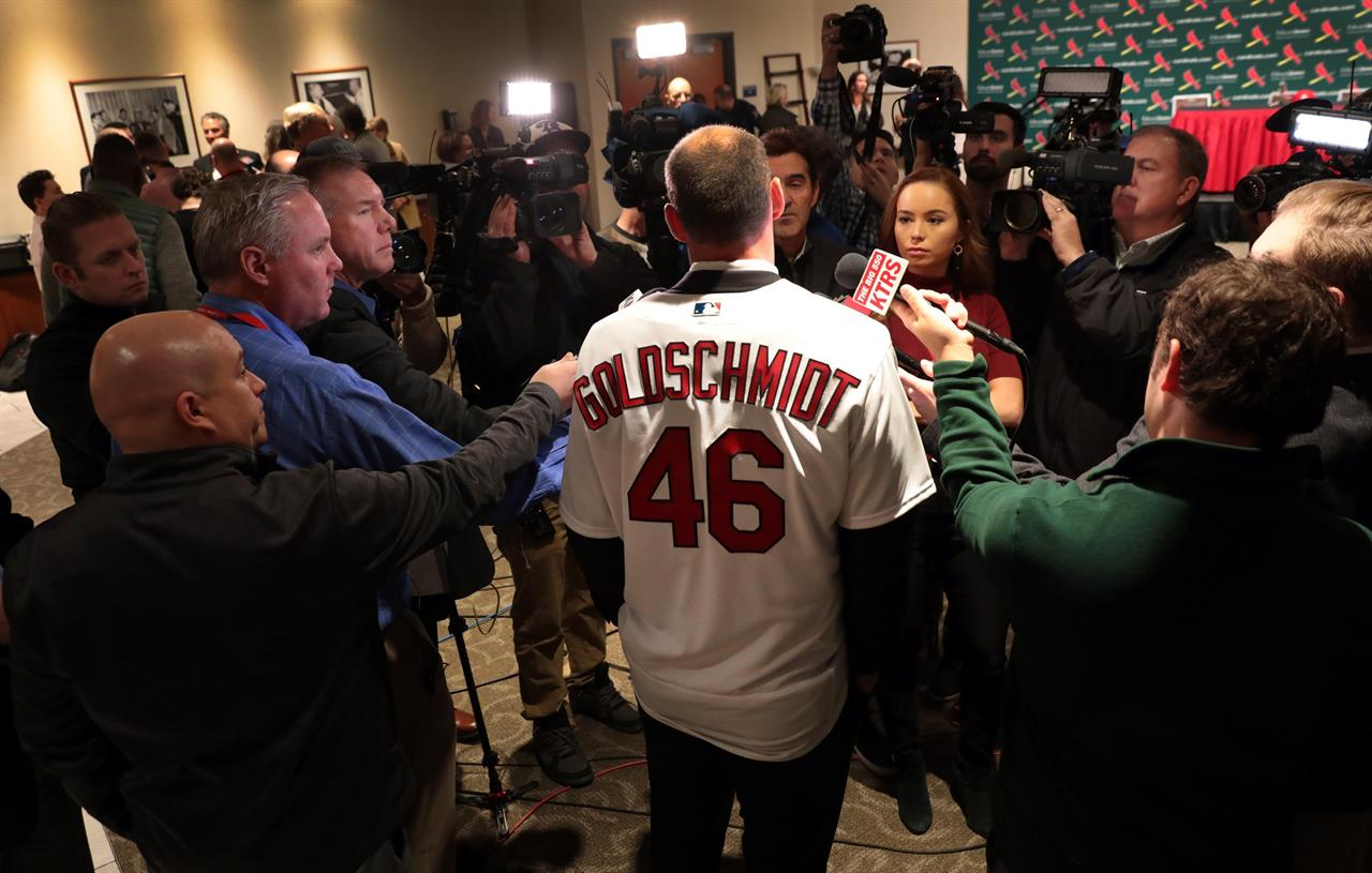 Cards' Goldschmidt is not thinking beyond 2019 season | AM