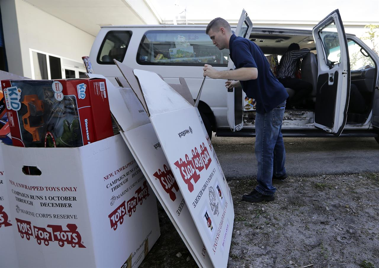 Toys R Us Closure Hits For Tots Hard