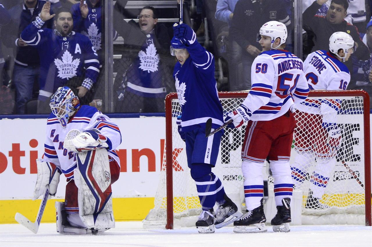 ... Marner lifts Maple Leafs over Rangers in wild third period ... eb2cfc1d6