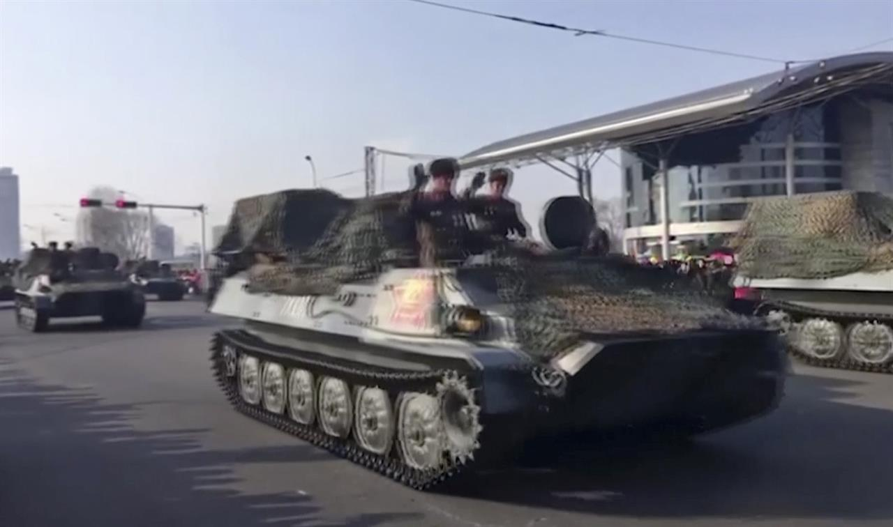 With military parade, Kim Jong Un thumbs nose at US | AM 970 The