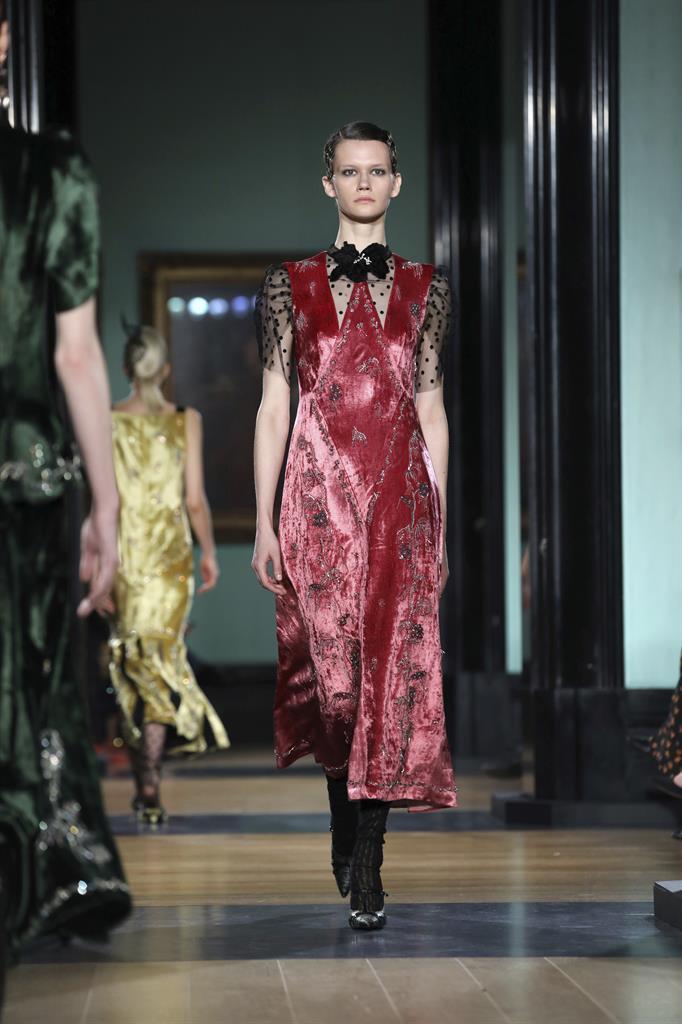 London Fashion: Erdem shows fancy florals
