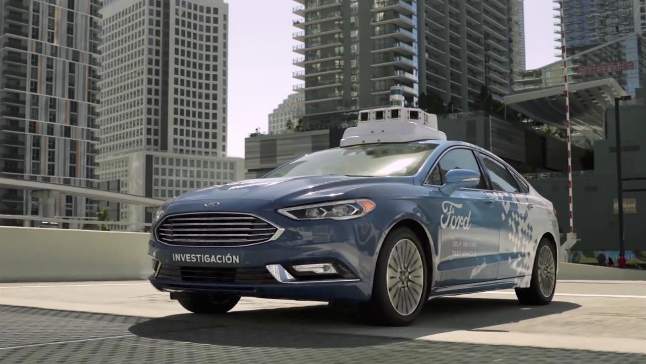 Ford And Miami To Form Test Bed For Self Driving Cars Am 660 The
