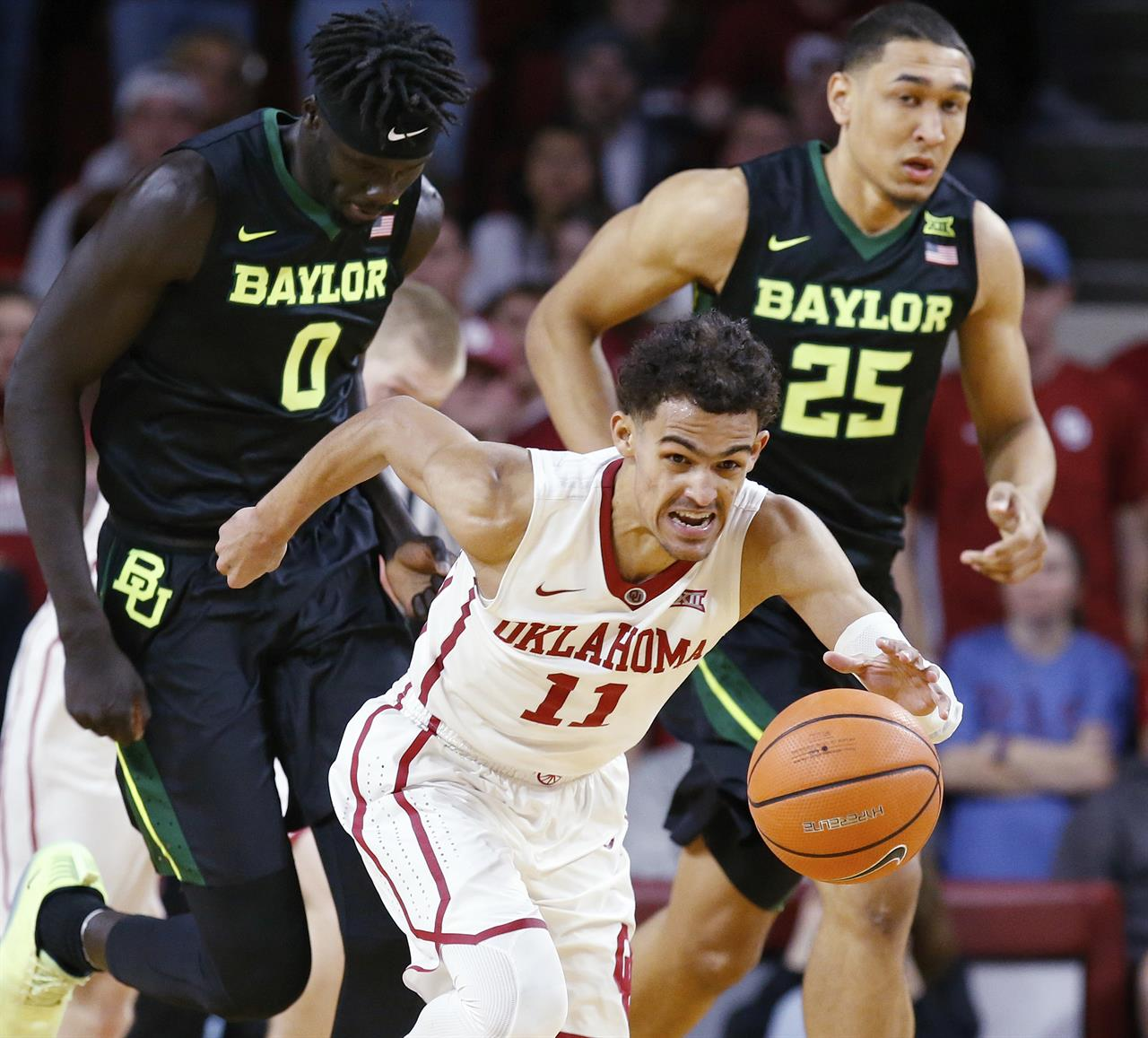 667fe93bf35f ... Oklahoma freshman Trae Young revels in role of hometown hero ...