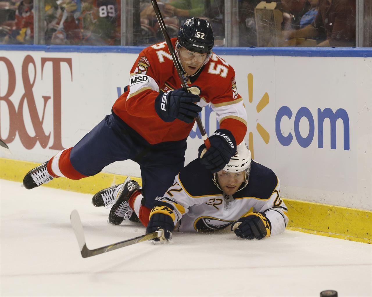 Barkov Reimer Help Panthers Top Sabres 4 1 For 5th Straight Am