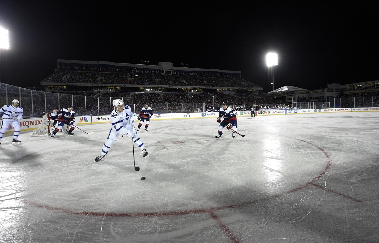 NHL announces four outdoor games for 2016-17 season