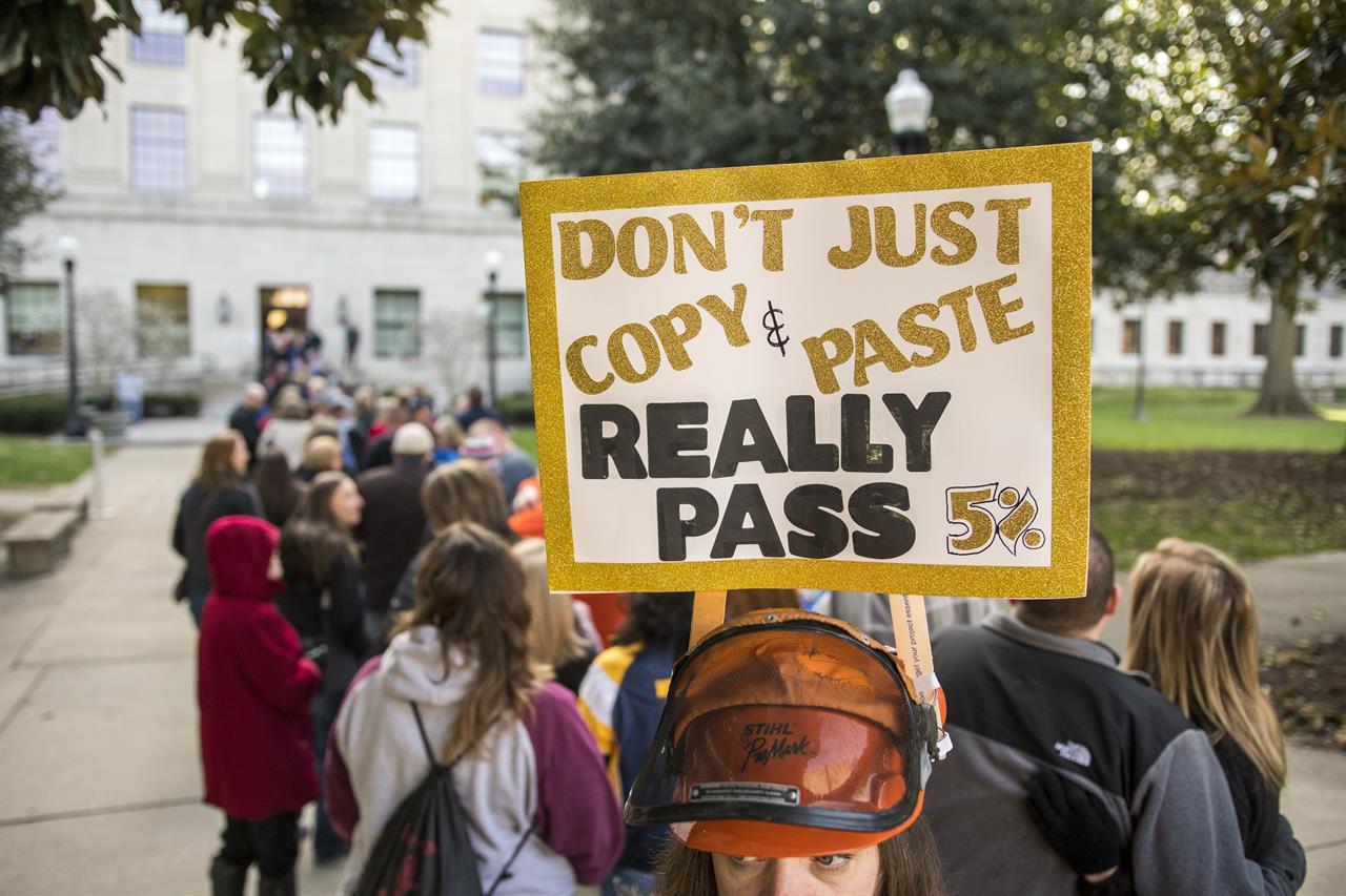 The Latest: West Virginia senators offer raise 'compromise