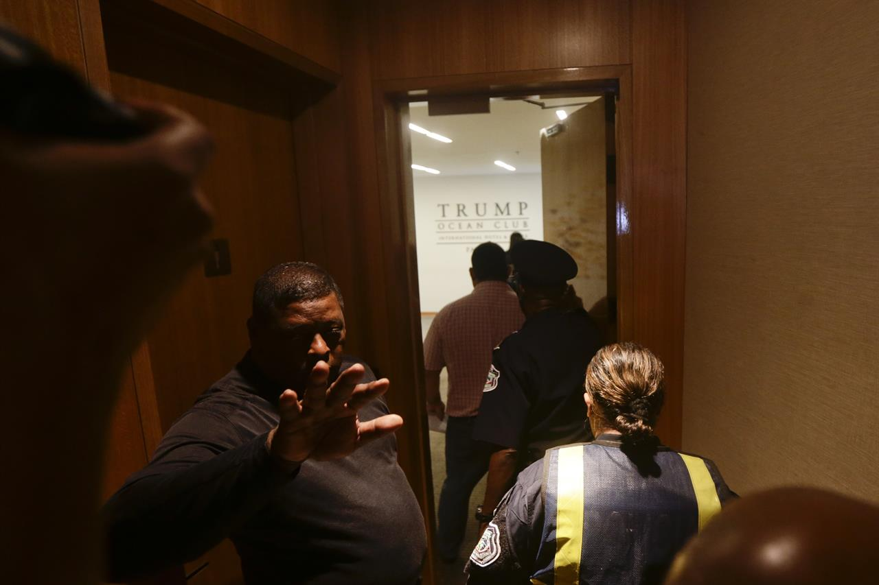 Police Help Oust Trump Hotels From Panama Property