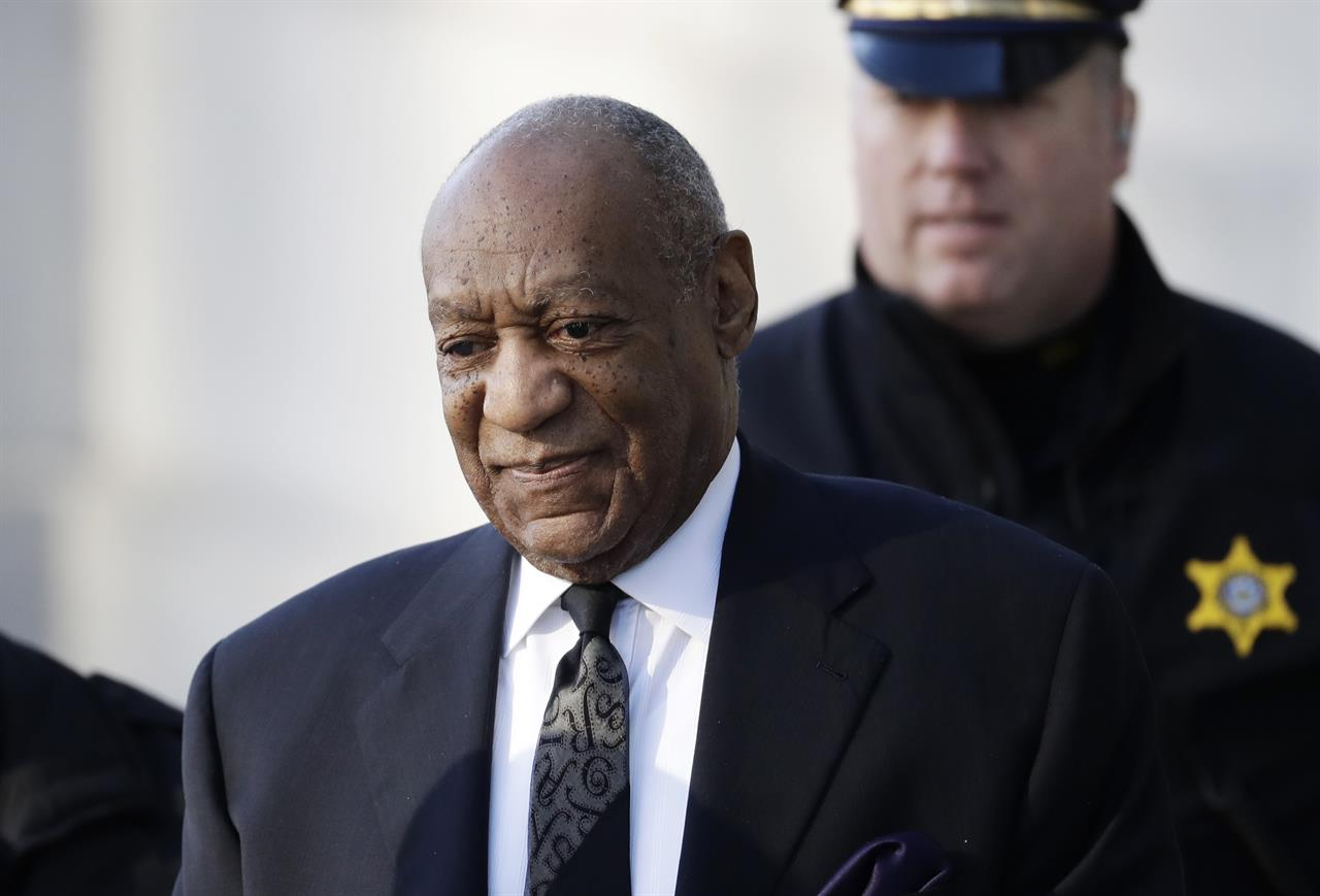 Bill Cosby arrives for a pretrial hearing in his sexual assault case at the Montgomery  County Courthouse, Tuesday, March 6, 2018, in Norristown, Pa.