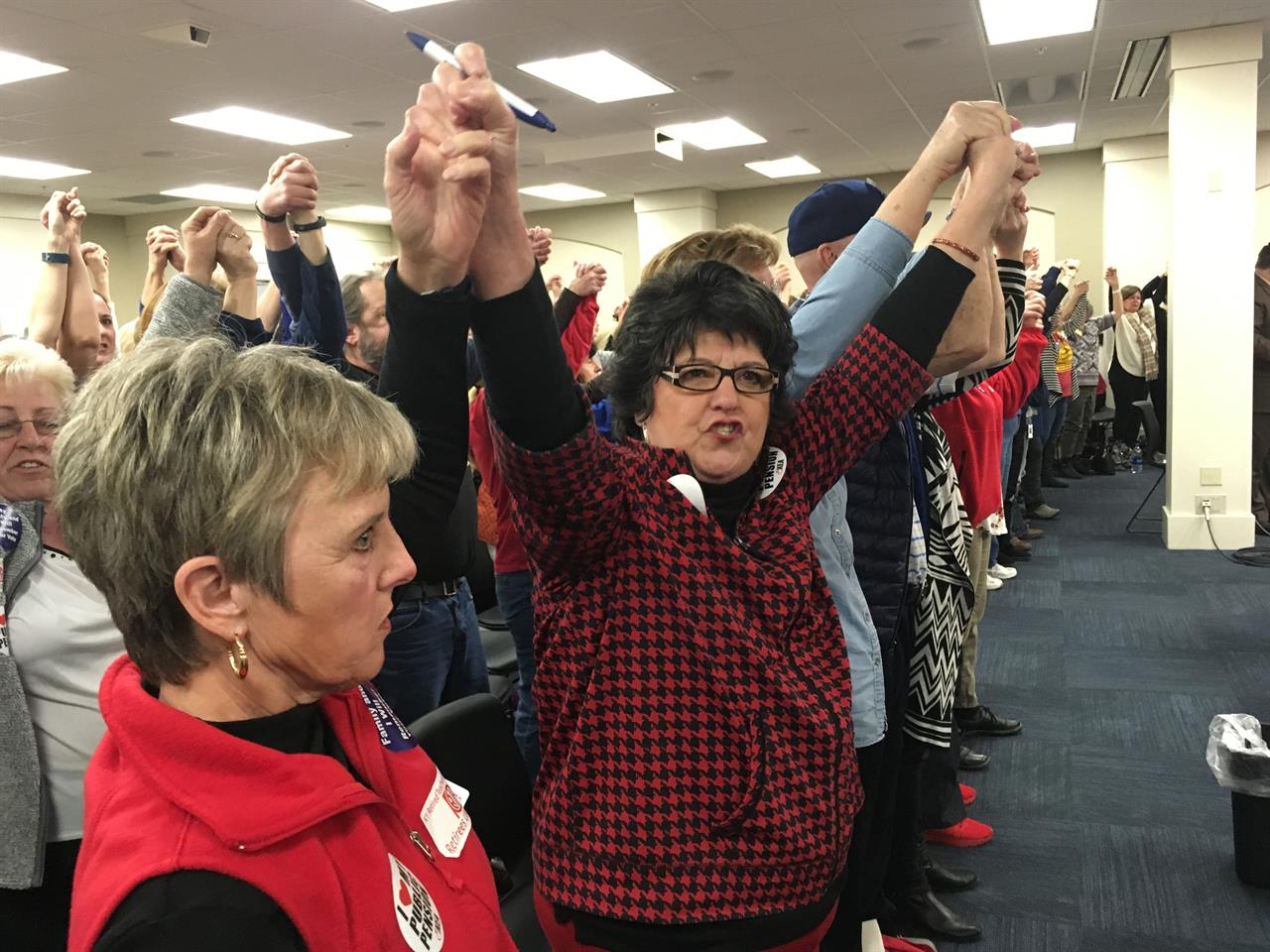 Teacher unions see momentum build with West Virginia strike