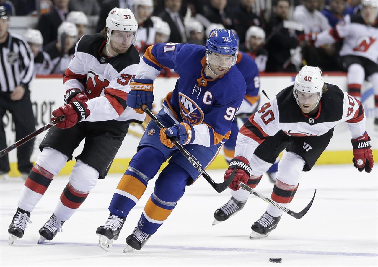 premium selection 63dec 307de Islanders down Devils 5-4 in shootout | AM 970 The Answer ...