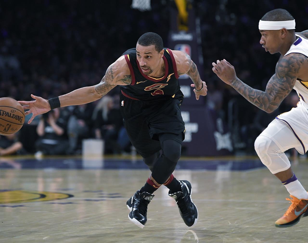 f3ae0d763ee1 Julius Randle s 36 lead Lakers past LeBron s Cavs
