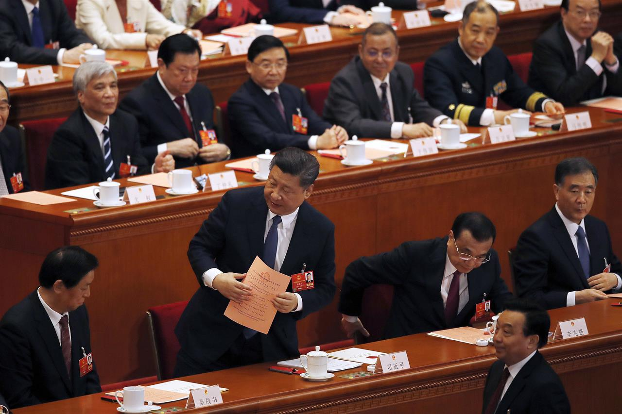 The Latest: China Lawmakers Abolish Presidential Term