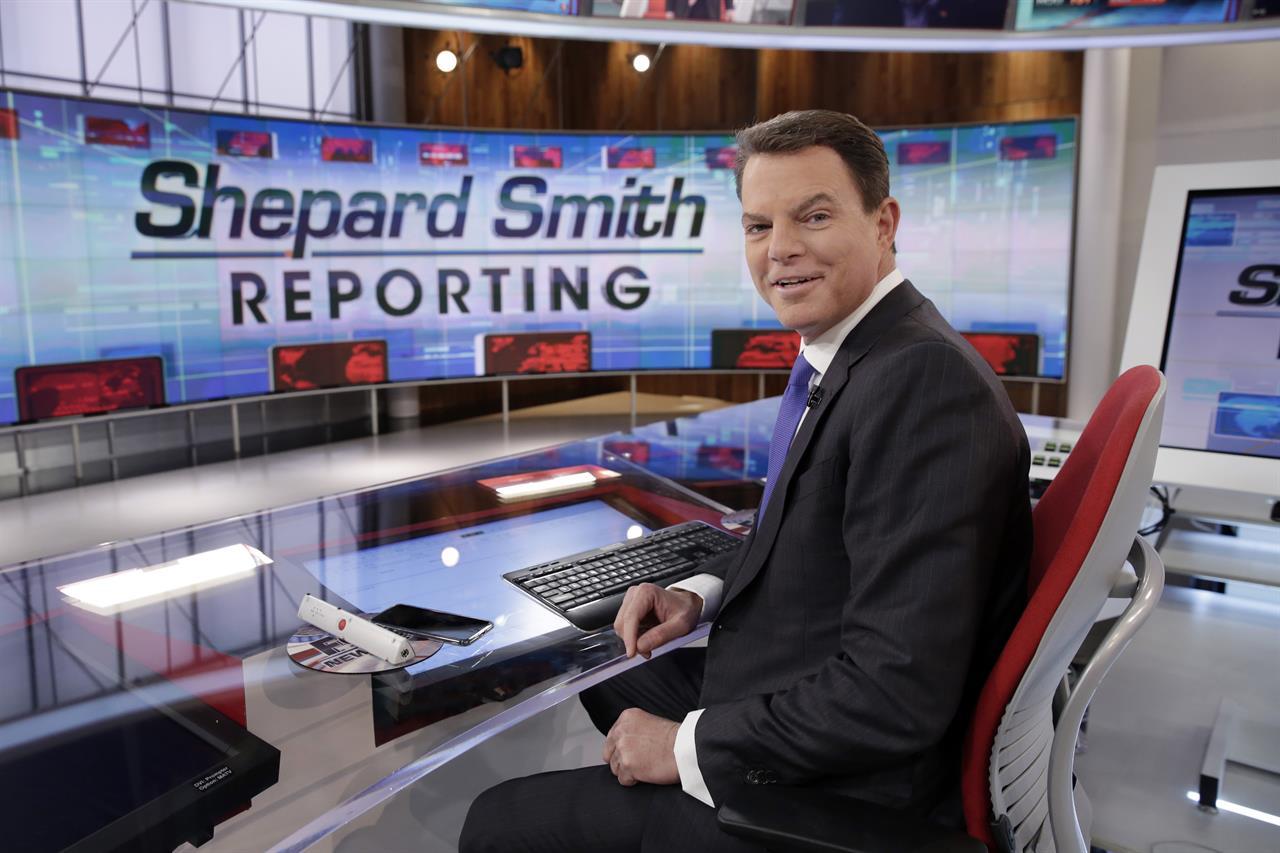 Fox News extends anchor Shepard Smith's contract | 710 KNUS