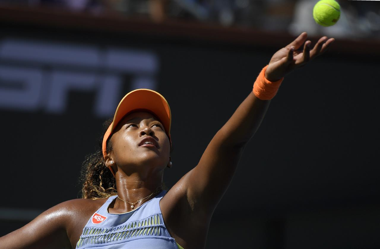 Serena to face rising star Osaka in 1st round at Miami Open