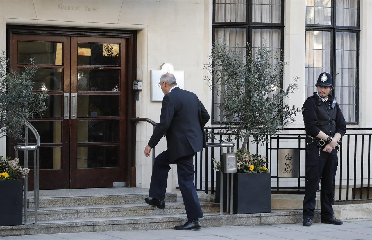 Queen Elizabeth's husband Prince Philip OK after hip surgery