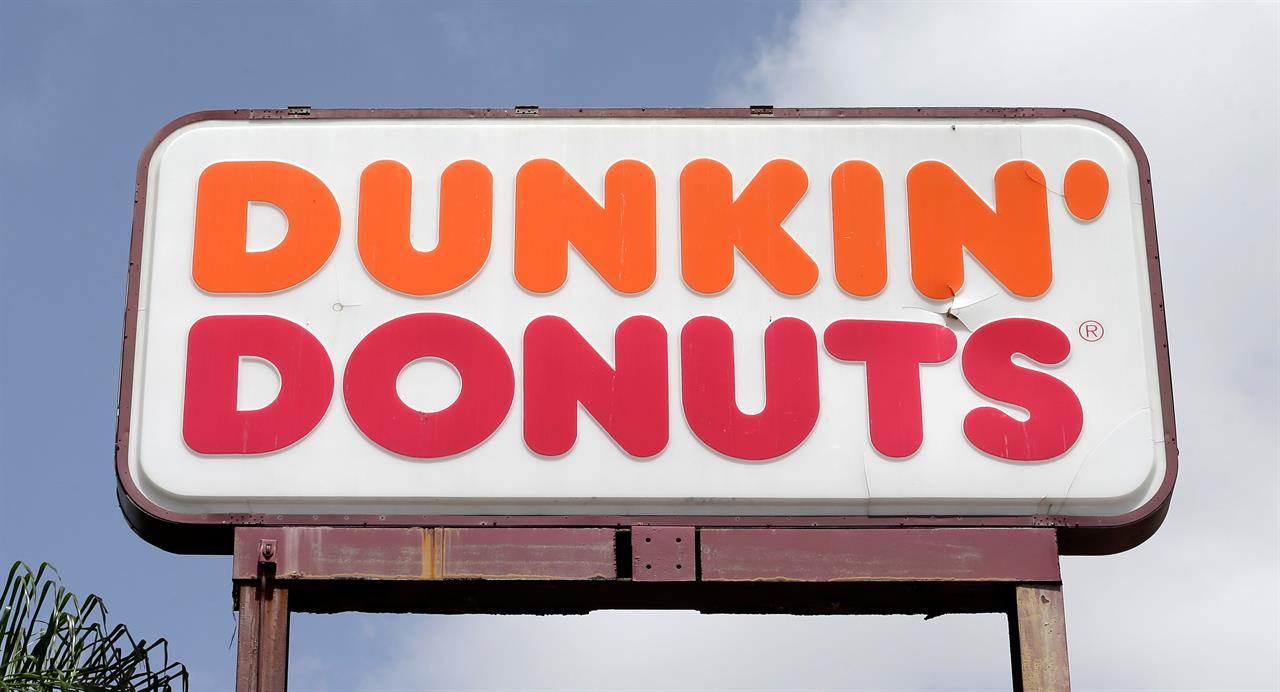 Dunkin' Donuts selling fries, pretzels and chicken tenders