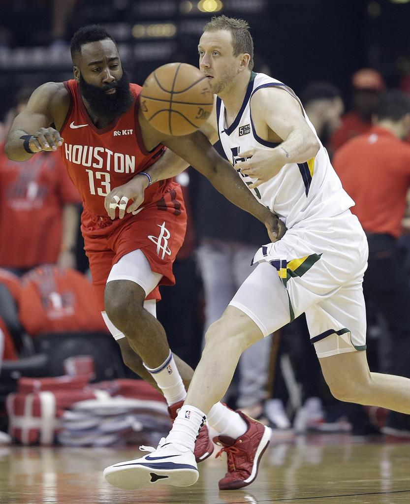 Rockets Jazz Game 1: Harden Scores 29 As Rockets Rout Jazz 122-90 In Game 1