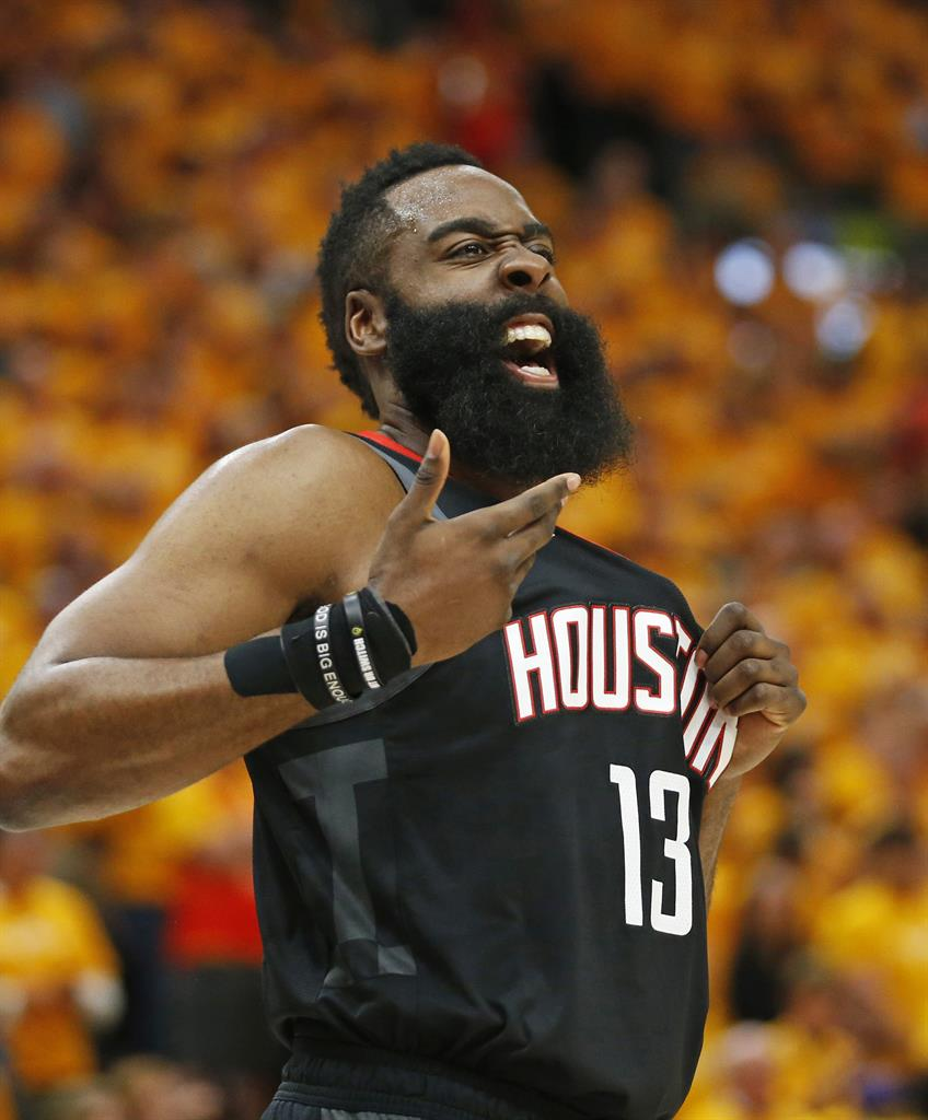 James Harden Basketball Camp: Rockets Beat Jazz 104-101 For 3-0 Series Lead