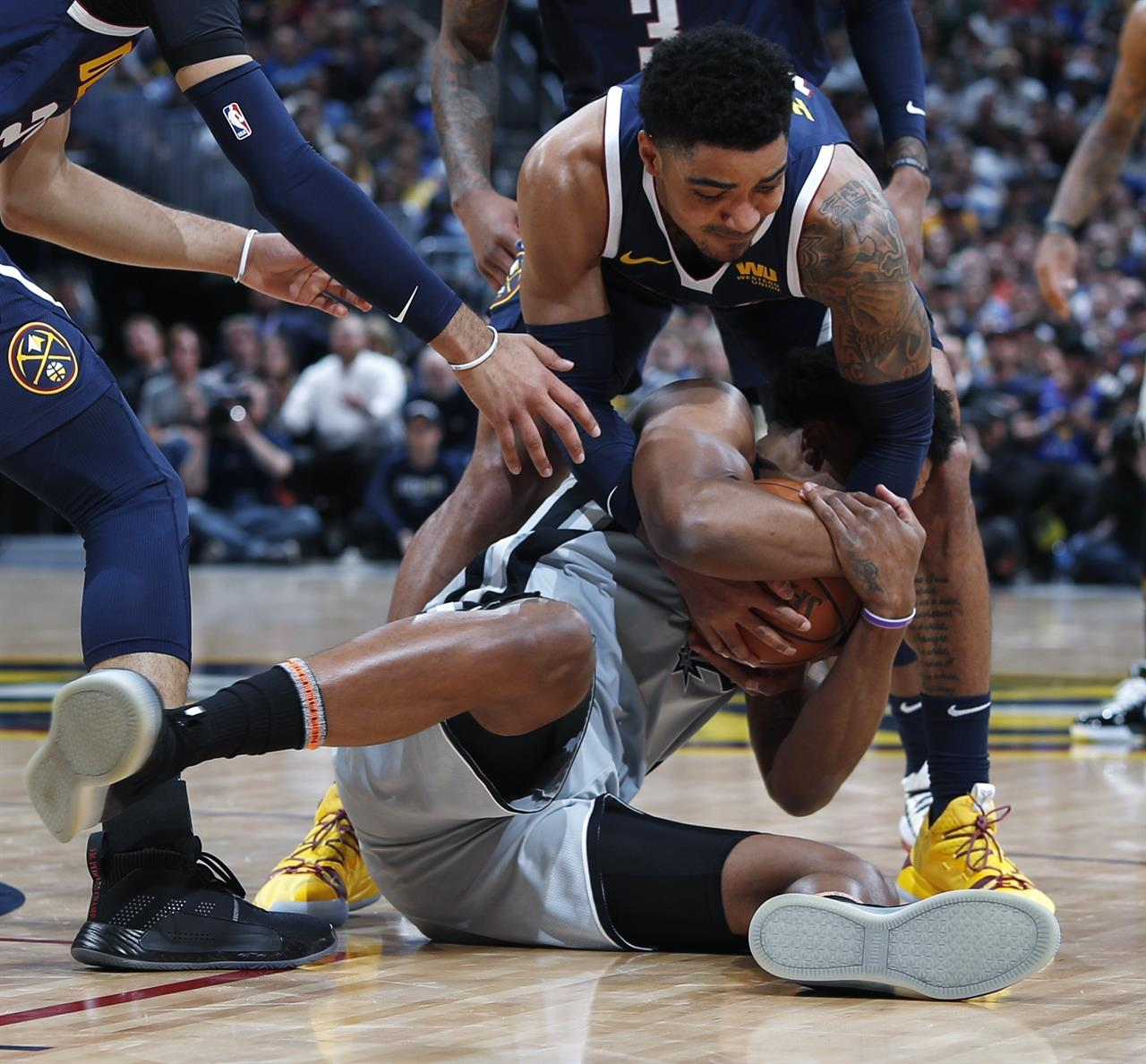 Denver Nuggets Game Tonight: Jokic, Nuggets Hold Off Spurs 90-86 In Game 7 To Advance