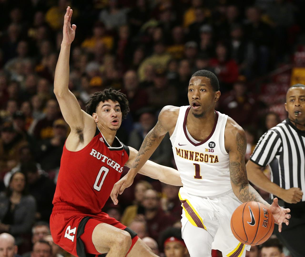 Coffey scores 29 as Gophers top Rutgers 88-70 | KDOW-AM