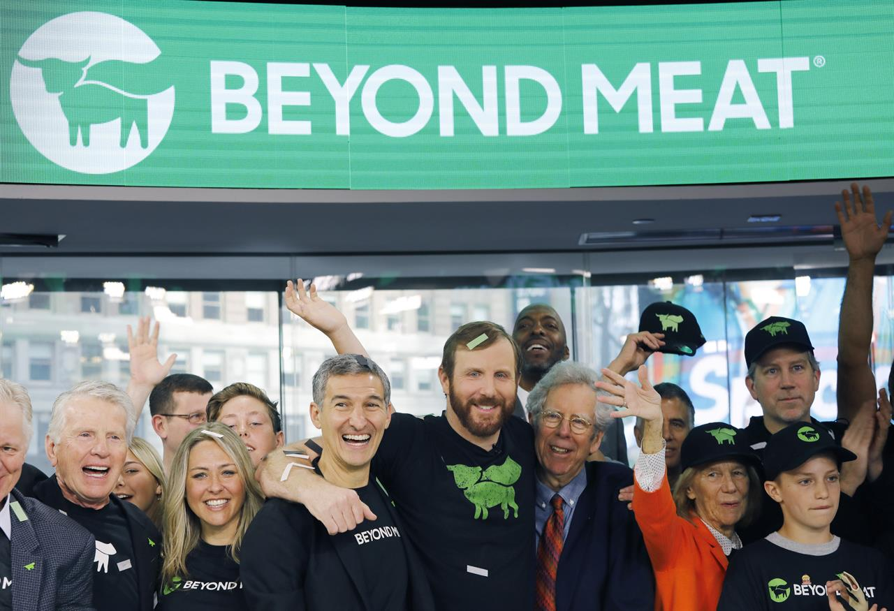 Beyond meat ipo most successful