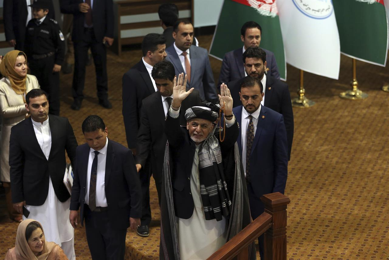 Afghanistan's grand council ends with call for peace talks