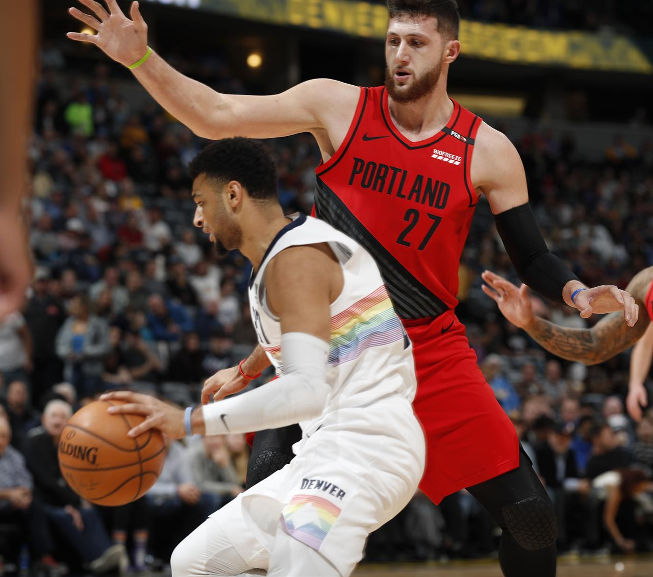 Jokic, Murray Lead Nuggets Past Trail Blazers, 116-113